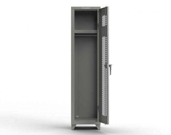 Ventilated 14 GA Single-Tier Locker - 1 Compartment