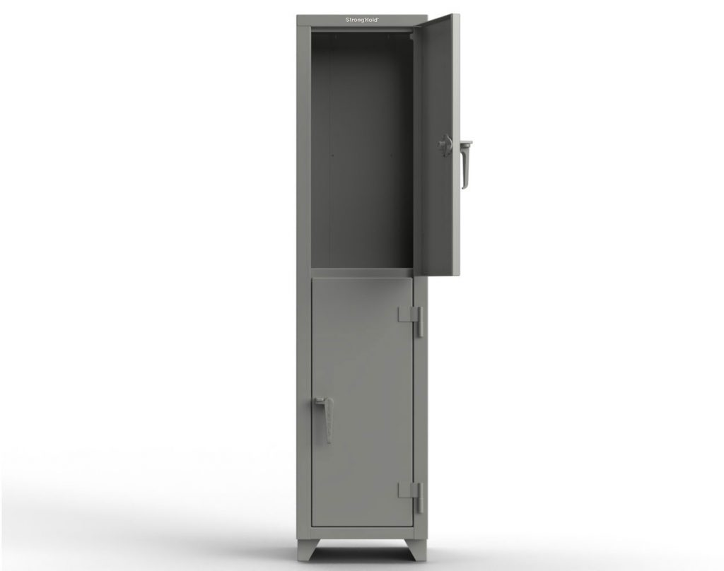 14 GA Double-Tier Locker - 2 Compartments