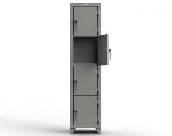 14 GA 4-Tier Locker - 4 Compartments