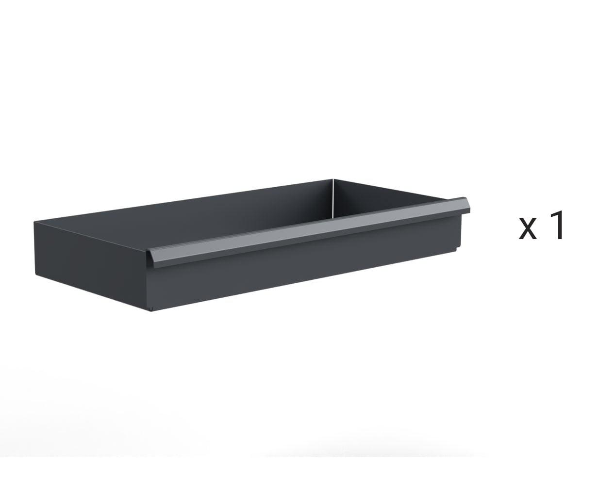 Heavy Duty Drawer Kit with (1) 6 in. Drawer for 60 in. W x 24 in. D Cabinet