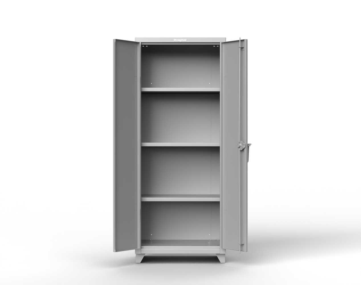 Heavy Duty 14 GA Cabinet with 3 Shelves – 30 in. W x 24 in. D x 75 in. H