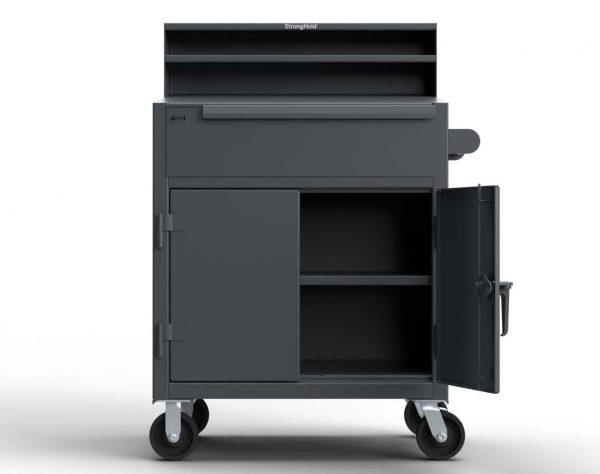 12 GA Extra Heavy Duty Mobile Shop Desk