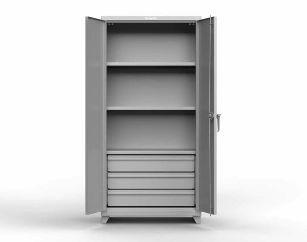 14 GA Heavy Duty Cabinet with 3 Drawers