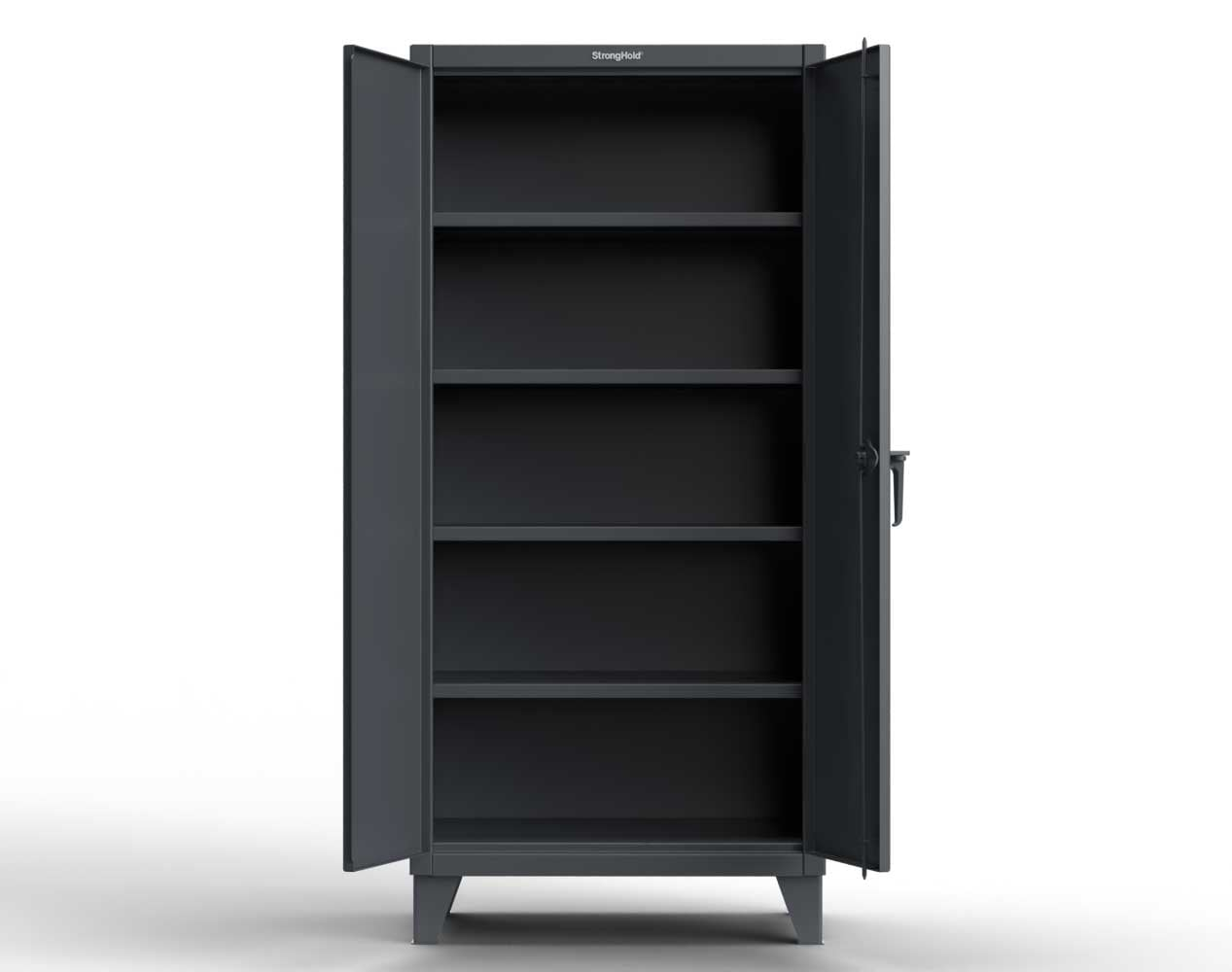 Extreme Duty 12 GA Cabinet with 3 Deep Shelves – 36 In. W x 30 In. D x 66 In. H