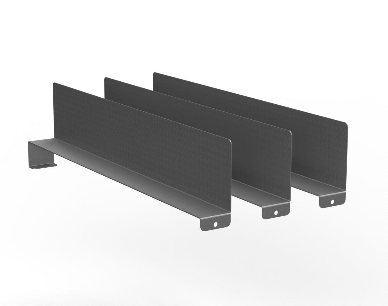 Adjustable Vertical Shelf Dividers – 20 in. D Cabinet