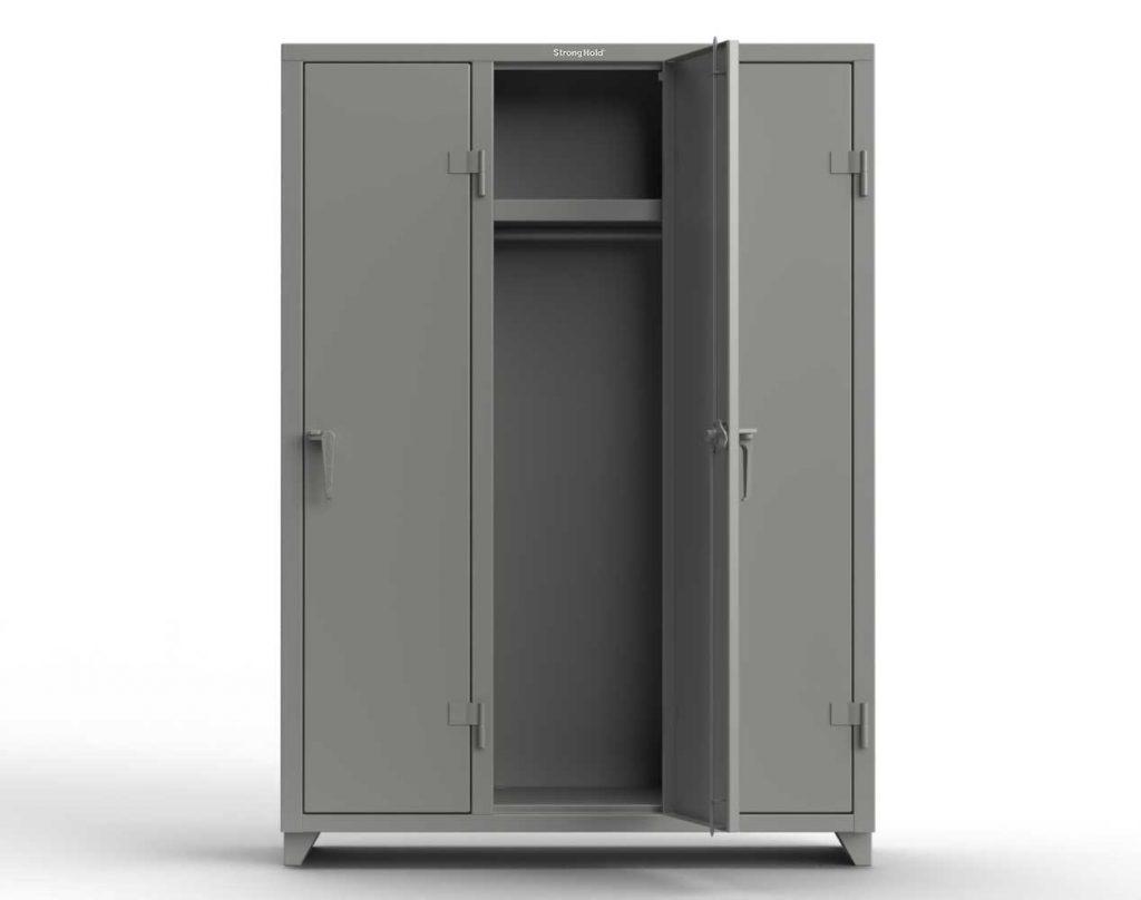 14 GA Single-Tier Locker - 3 Compartments