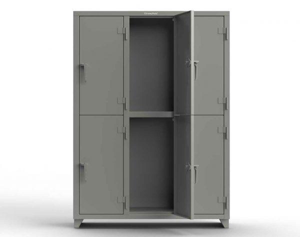 14 GA Double-Tier Locker - 6 Compartments