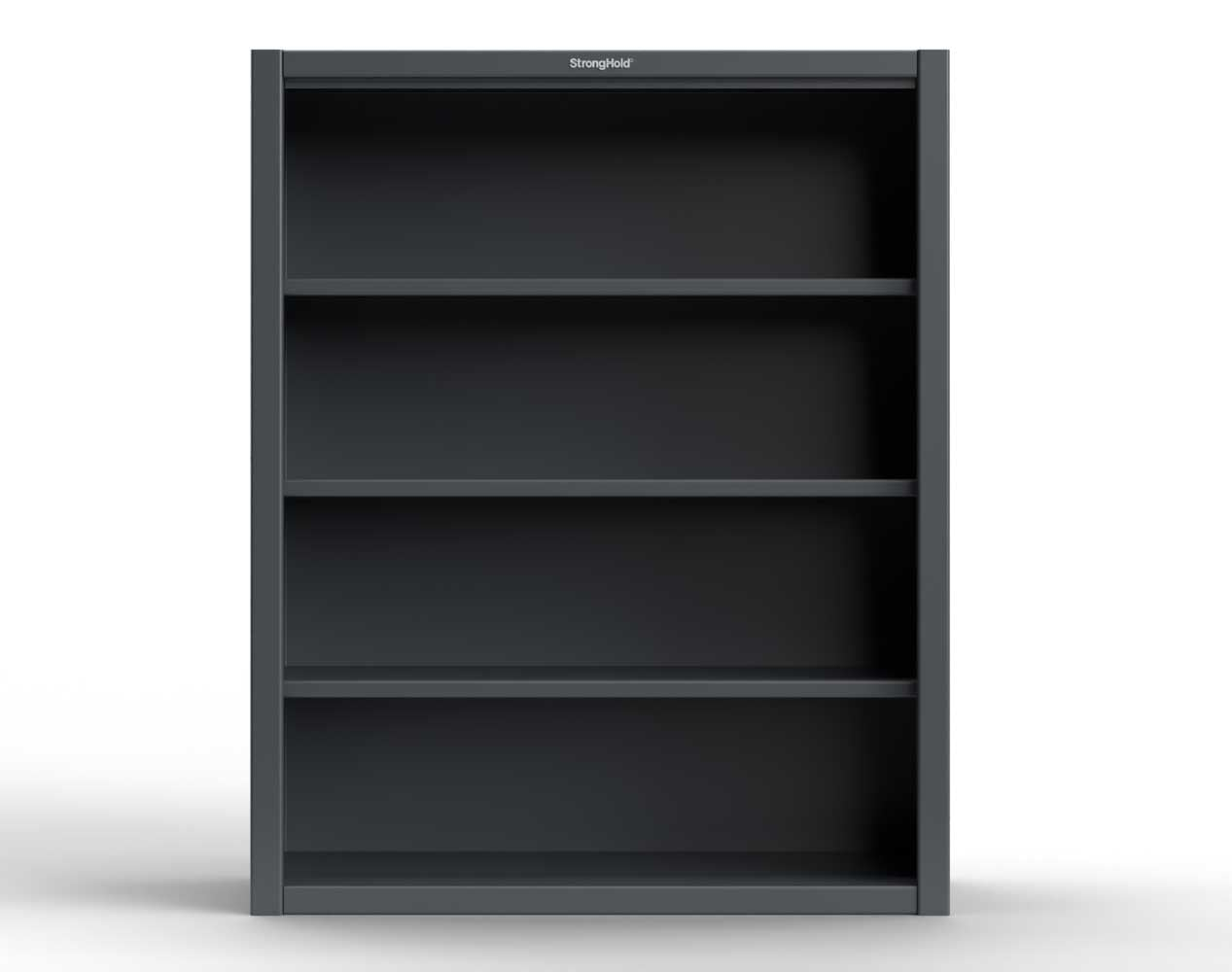 Extra Heavy Duty 12 GA Closed Shelving Unit with 3 Shelves – 36 In. W x 24 In. D x 60 In. H