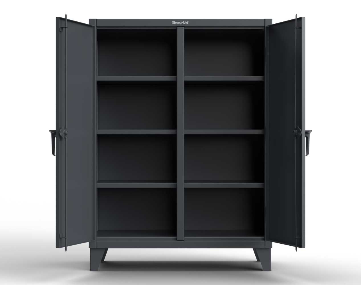 Extra Heavy Duty 12 GA Double Shift Cabinet with 6 Shelves – 36 In. W x 24 In. D x 66 In. H