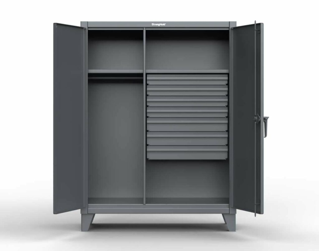 Industrial Uniform Cabinet with 7 Drawers