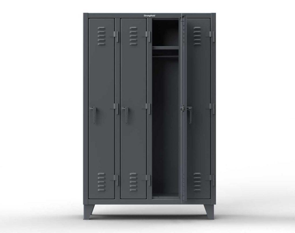 Single-Tier Locker - 4 Compartments