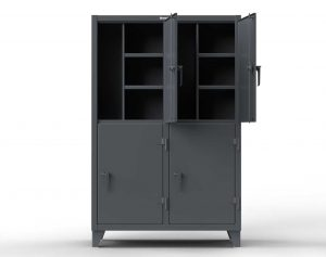 Double-Tier Locker with 2 Compartments