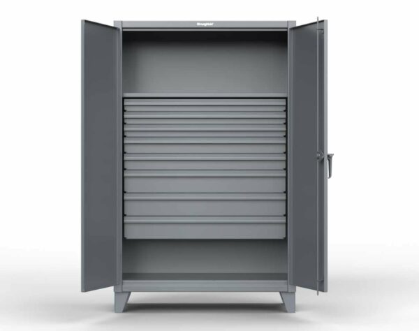 12 GA Extra Heavy Duty Cabinet with 8 Drawers
