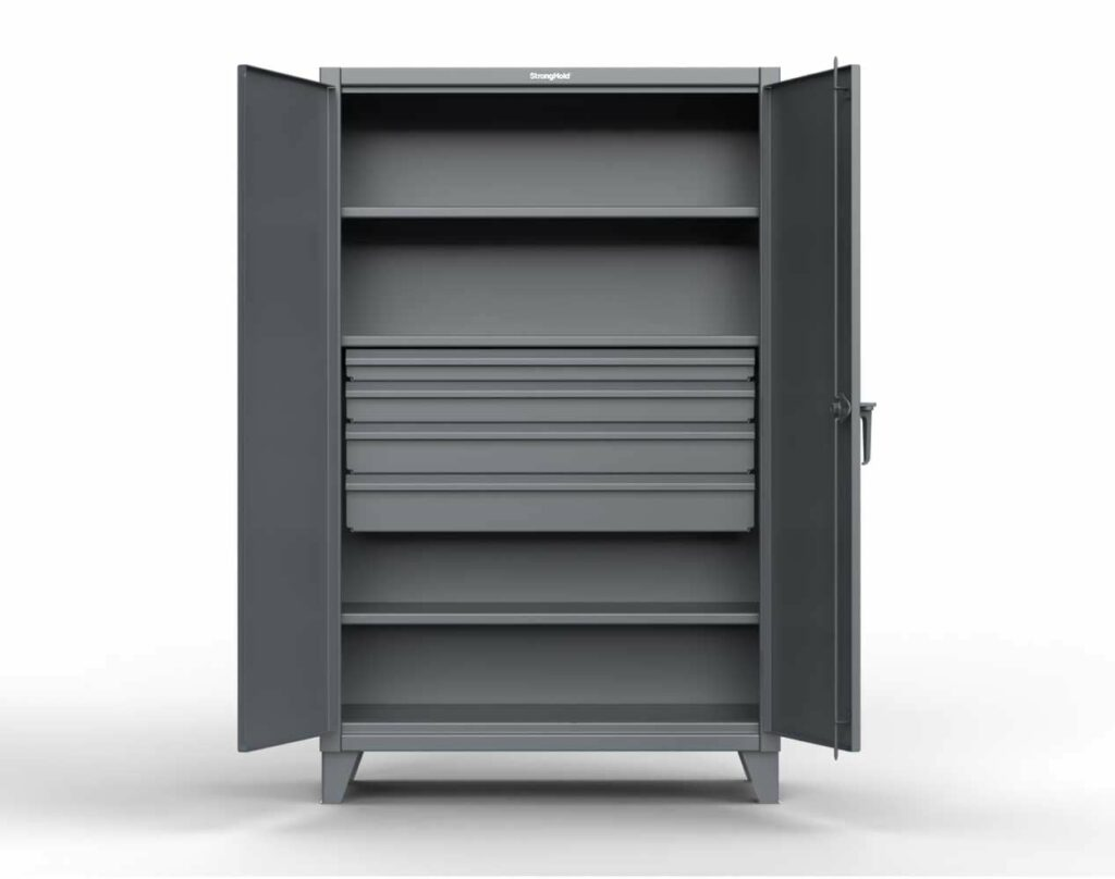 12 GA Extra Heavy Duty Cabinet with 4 Drawers