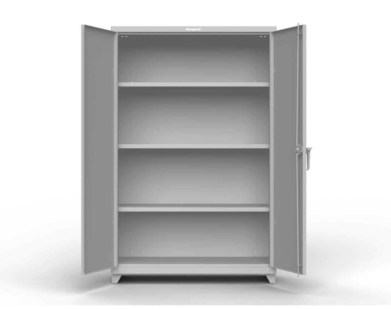 Extra Heavy Duty 14 GA Cabinet with 5 Shelves – 60 In. W x 24 In. D x 75 In. H