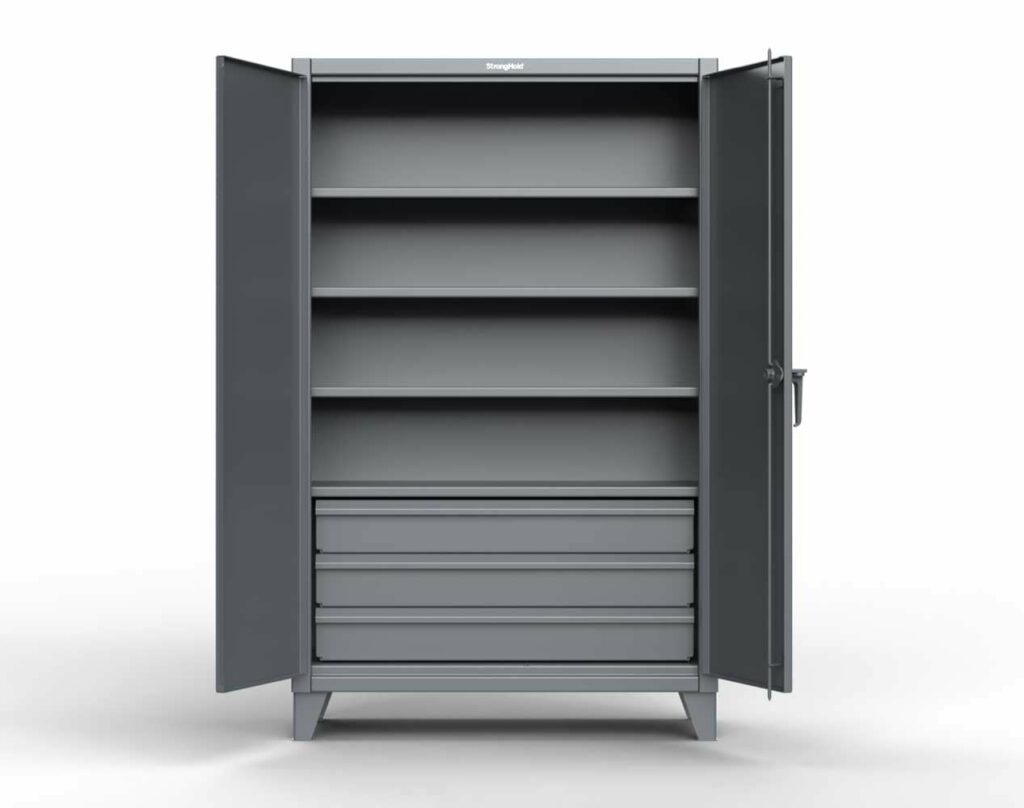 12 GA Extra Heavy Duty Cabinet with 3 Drawers
