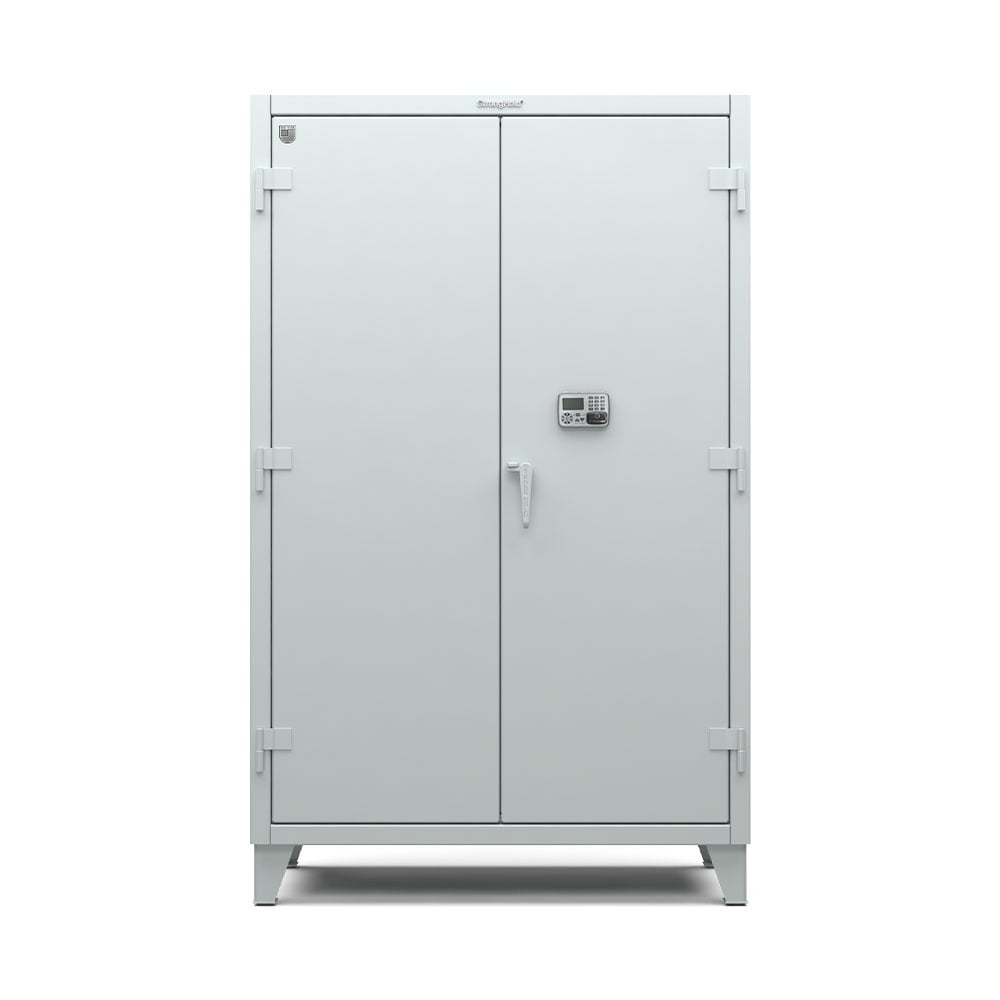 Strong Hold Cabinet with Network-Capable Electronic Lock