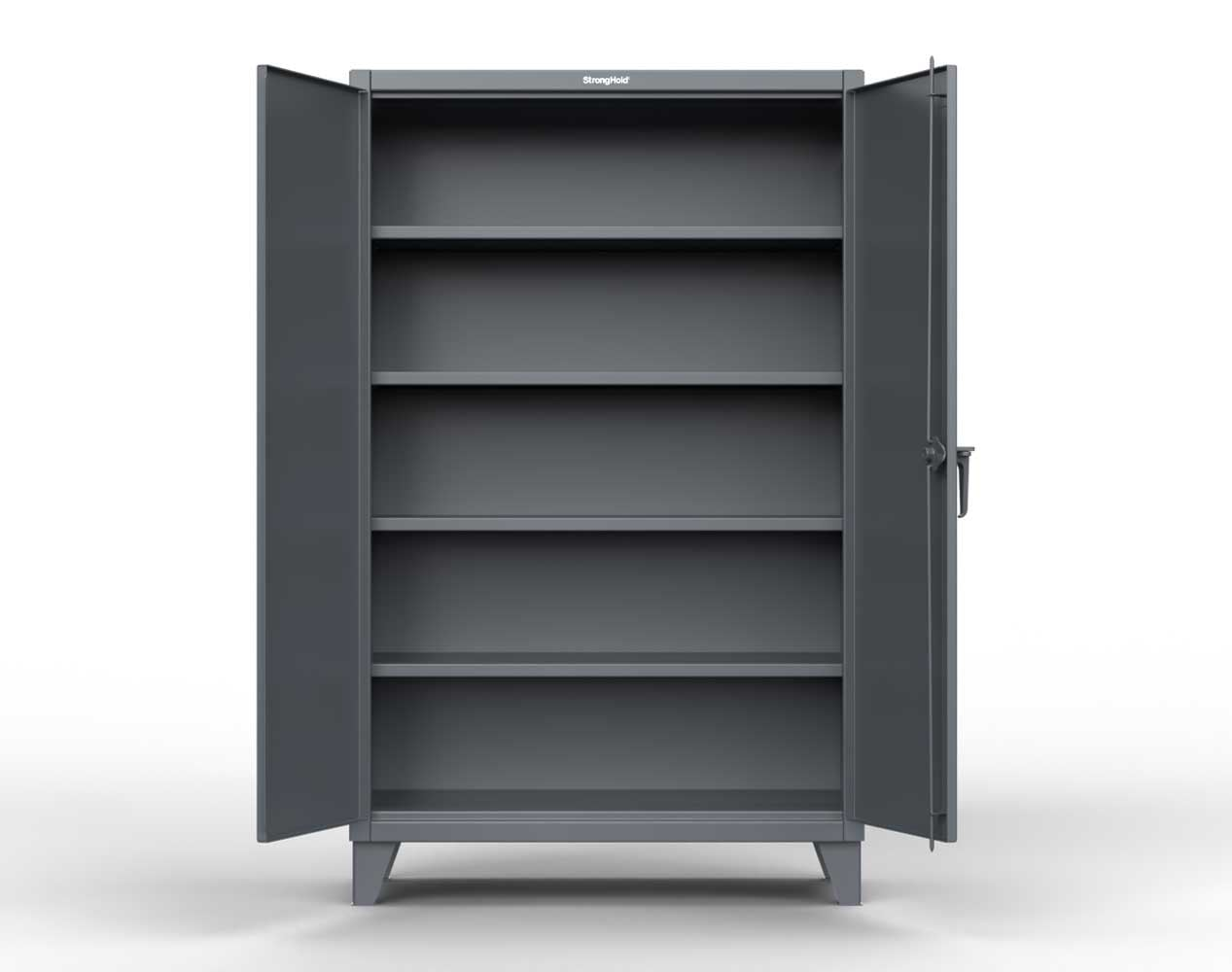 Extra Heavy Duty 12 GA Cabinet with 3 Extra Deep Shelves – 36 In. W x 36 In. D x 66 In. H