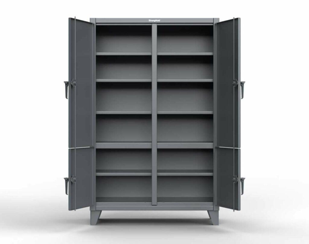 12 GA Extra Heavy Duty Cabinet - 4 Locking Doors