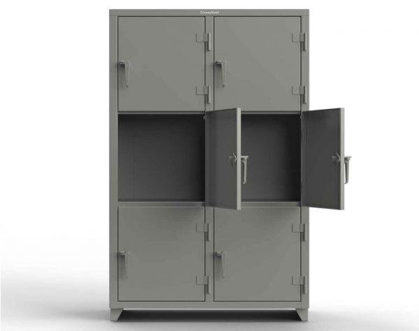 14 GA Triple-Tier Locker - 6 Compartments