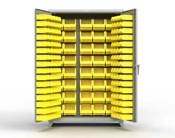 14 GA Extra Heavy Duty All Bin Cabinet
