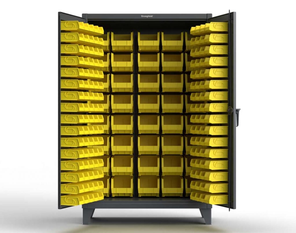 12 GA Extra Heavy Duty All Bin Cabinet