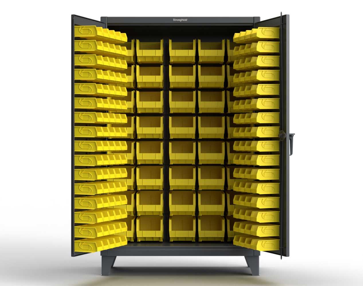 Extreme Duty 12 GA All Bin Cabinet – 48 In. W x 24 In. D x 78 In. H