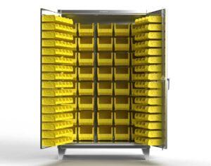 12 GA Stainless Steel Bin Cabinet