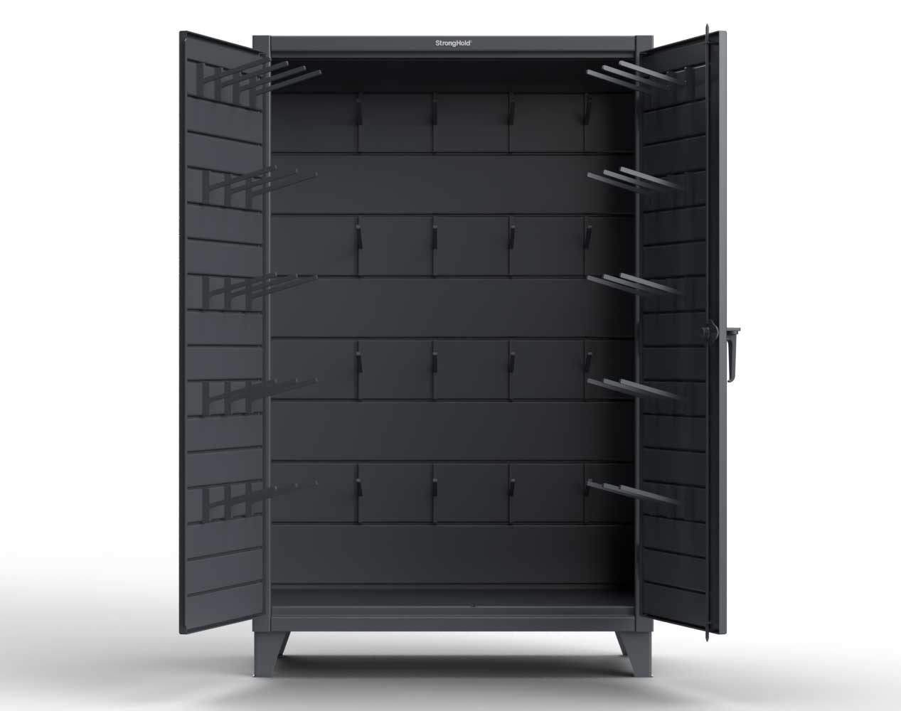 Extreme Duty 12 GA Cabinet with Hooks – 36 In. W x 24 In. D x 78 In. H