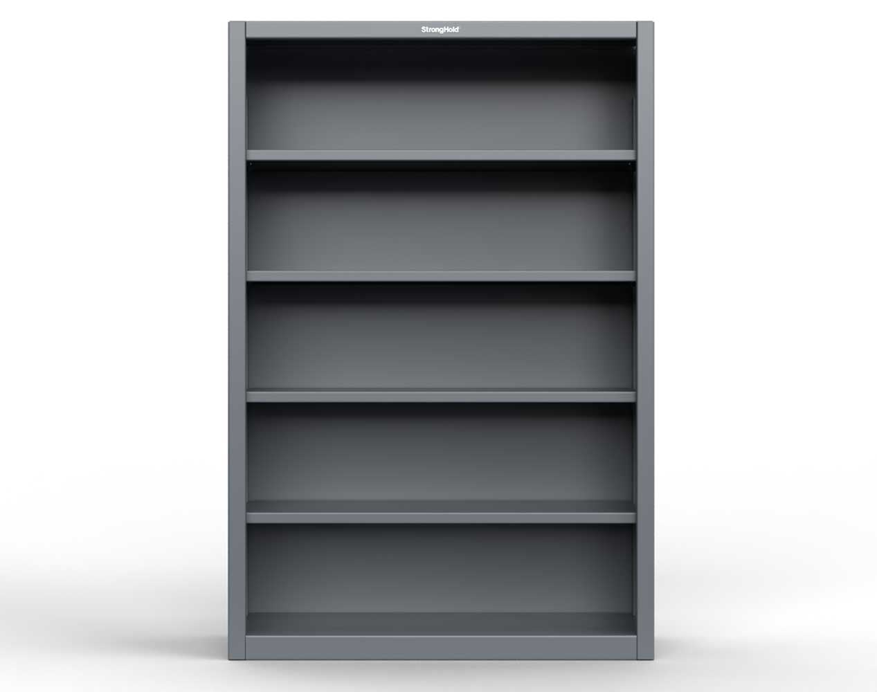 Extra Heavy Duty 12 GA Closed Shelving Unit with 4 Shelves – 36 In. W x 14 In. D x 72 In. H