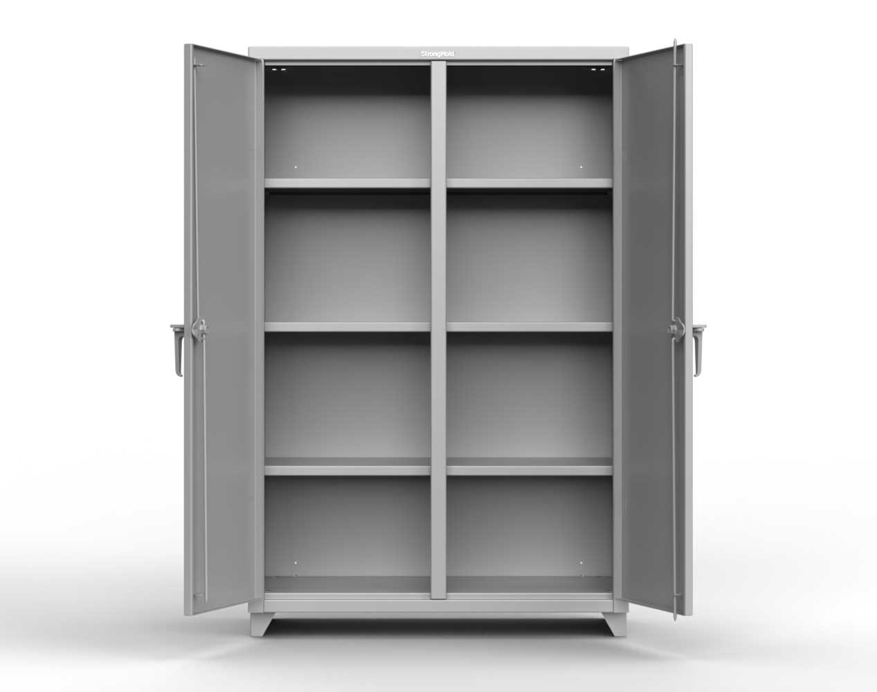 Extra Heavy Duty 14 GA Double Shift Cabinet with 6 Shelves – 36 In. W x 24 In. D x 75 In. H