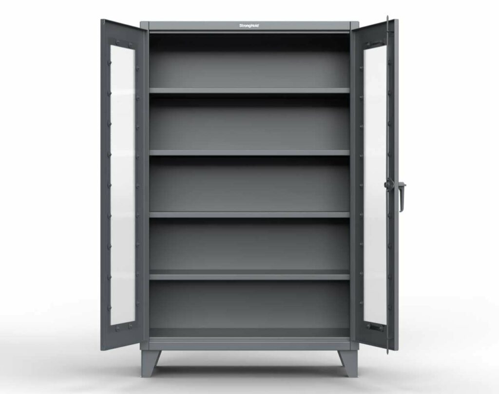 12 GA Extra Heavy Duty clearview Cabinet