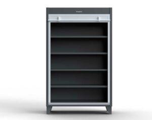 12 GA Extra Heavy Duty Cabinet with Roll-Up Door