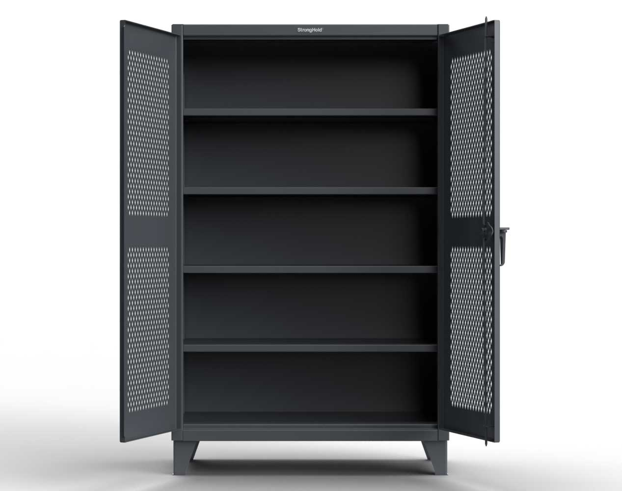 Extreme Duty 12 GA Cabinet with Ventilated Doors – 36 In. W x 24 In. D x 78 In. H