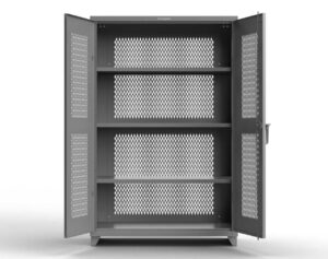 Fully Ventilated Storage Cabinet