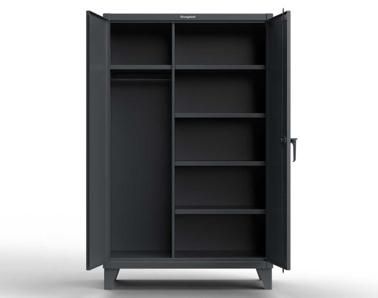 Extreme Duty 12 GA Uniform Cabinet with 5 Shelves – 36 In. W x 24 In. D x 78 In. H