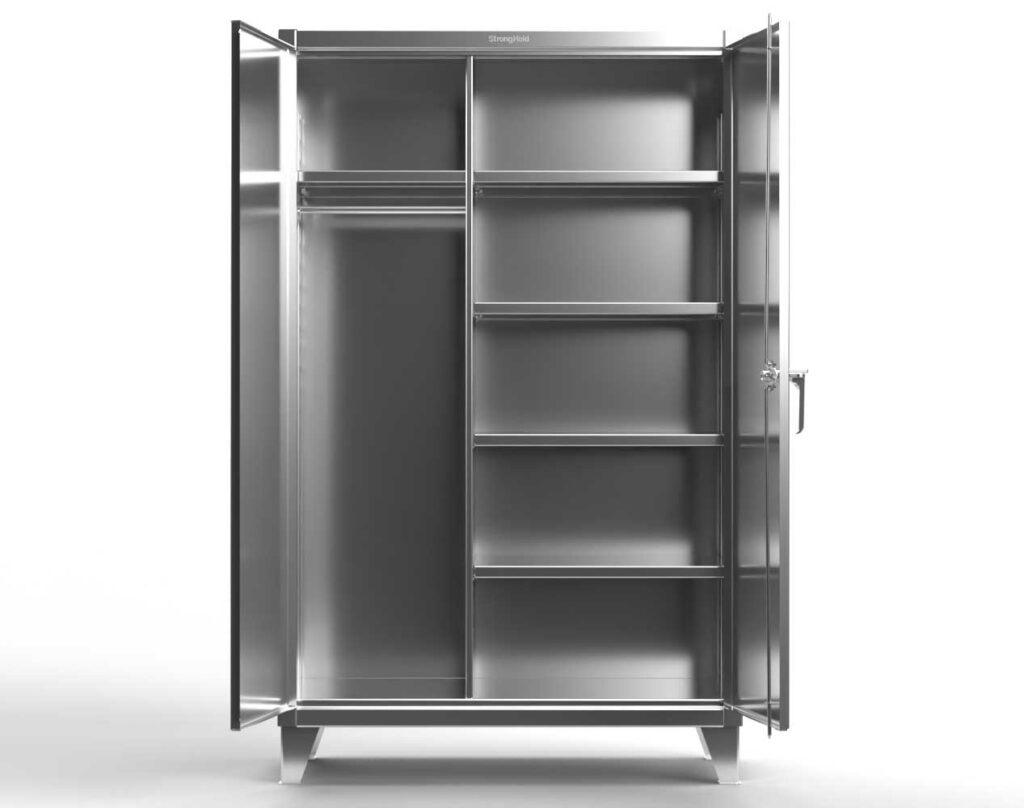 12 GA Stainless Steel Uniform Cabinet