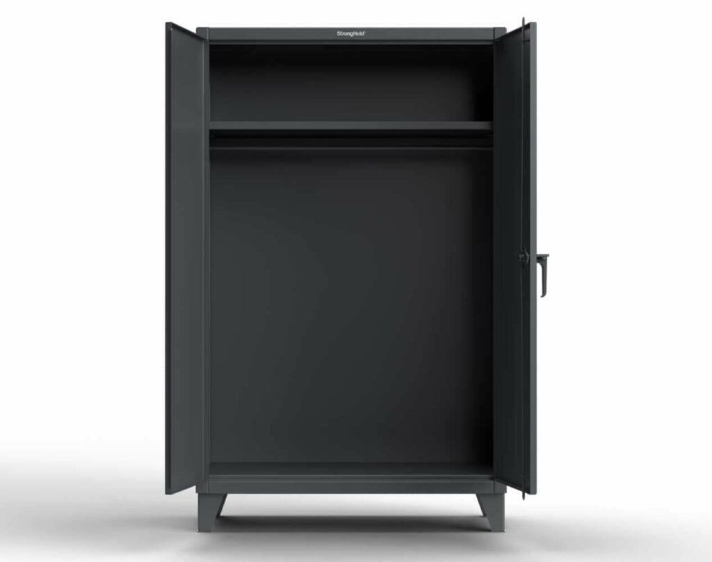 12 GA Industrial Uniform Cabinet with Hanger Rod