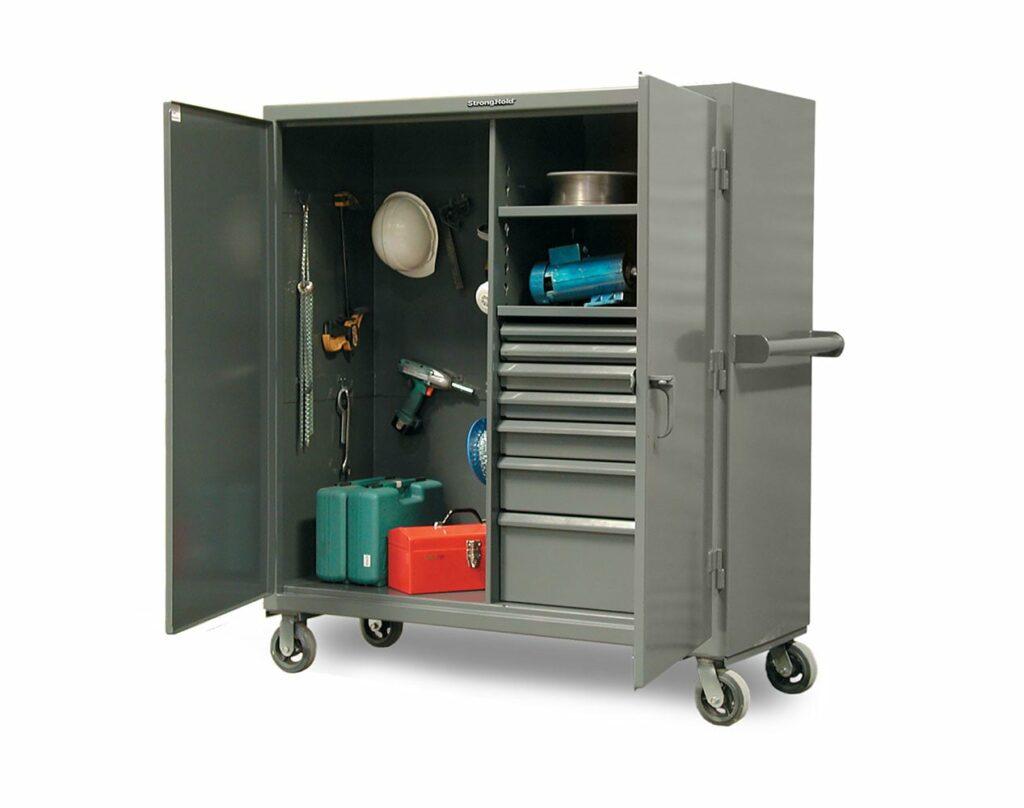 Mobile Jobsite Cabinet