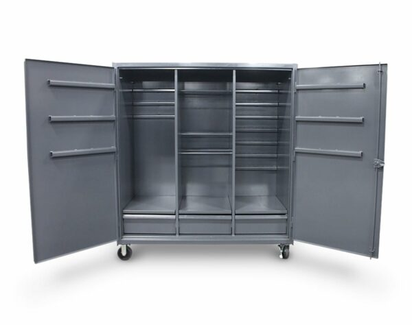 12 GA Extra Heavy Duty Cabinet with Rods and Hooks