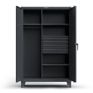 Janitorial and Wardrobe Cabinets