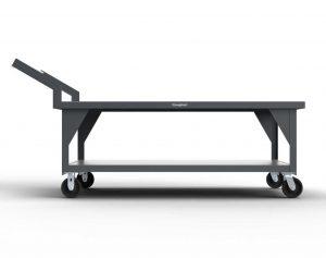 7 GA Industrial Mobile Shop Table