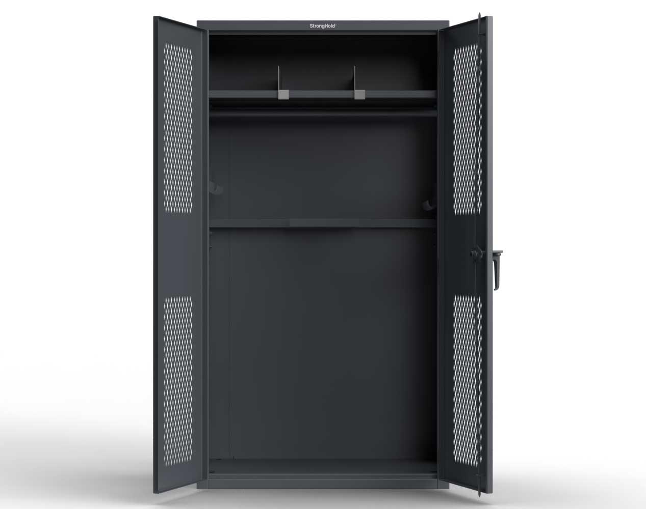 Extra Heavy Duty 14 GA TA-50 Tactical Locker, 1 Shelf – 42 in. W x 24 in. D x 78 in. H