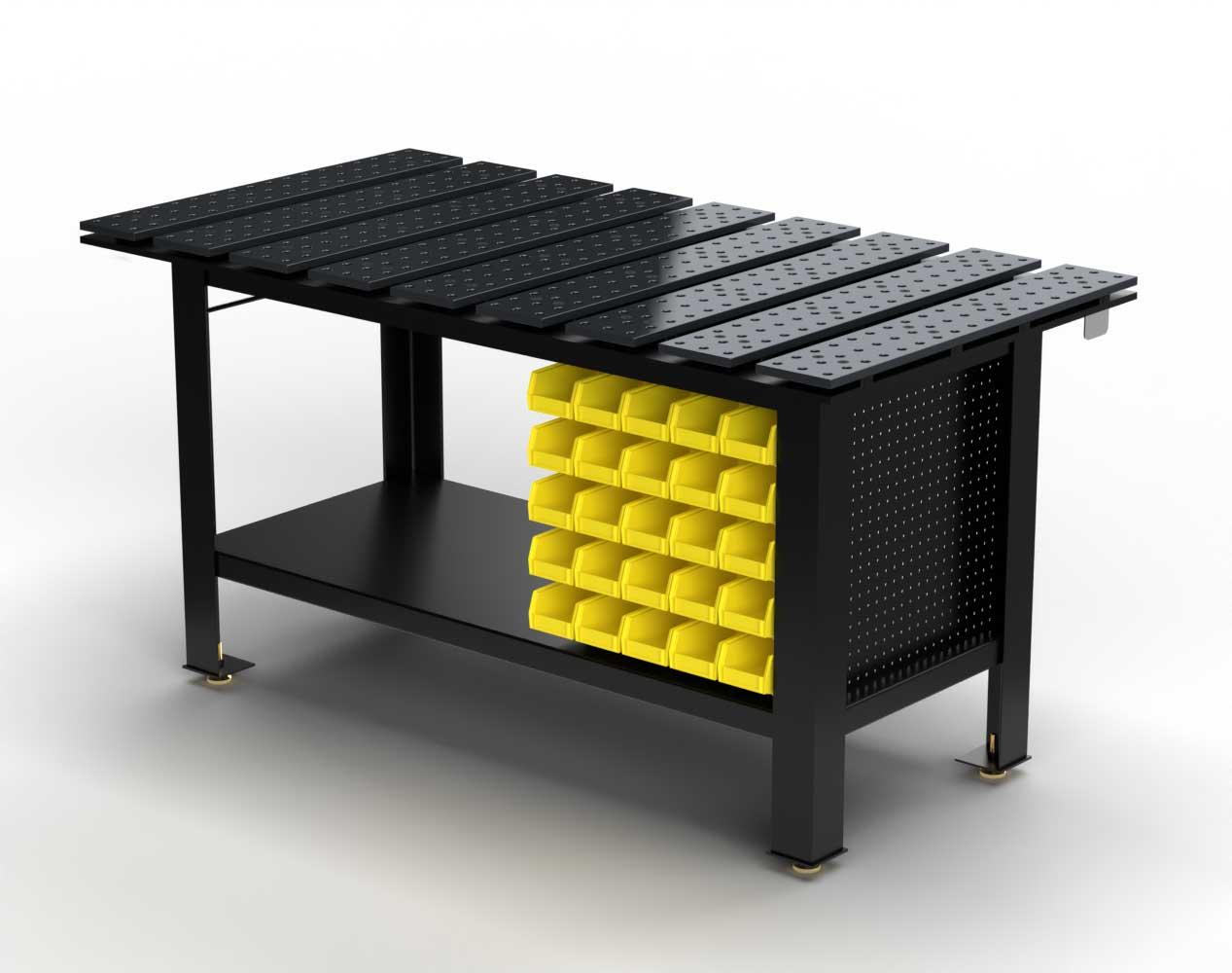 Extra Heavy Duty Weld Fixture Table – 70 in. W x 36 in. D x 37 in. H